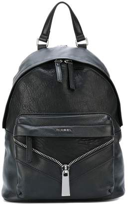Diesel zip detail backpack