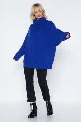 Nasty Gal Big on Turtlenecks Oversized Sweater