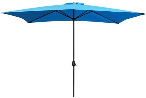 Highland Dunes Bookout Patio 10' x 6.5' Rectangular Market Umbrella Fabric