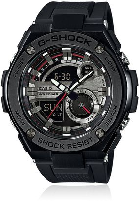 G-Steel Resin 3d Watch $358 thestylecure.com
