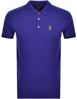 Luke 1977 New Mead Polo T Shirt Blue