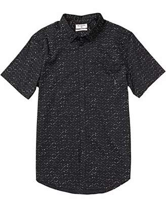Billabong Men's Printed Woven Short Sleeve Shirts