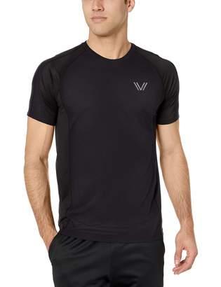 Peak Velocity Men's VXE Cloud Run Short Sleeve Quick-Dry Athletic-Fit T-Shirt