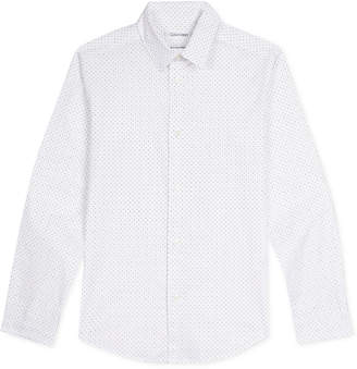 Calvin Klein Big Boys Dot-Print Shirt