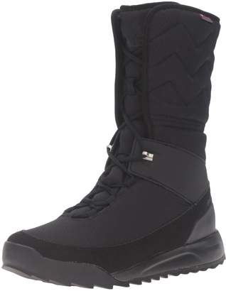 adidas outdoor Women's CW Choleah High CP Leather Snow Boot, Black