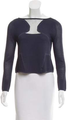 Ramy Brook Open Knit Crop Top w/ Tags