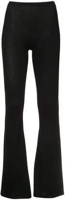 MM6 MAISON MARGIELA bell bottom leggings
