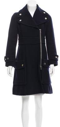 Sonia Rykiel Sonia by Wool Knee-Length Coat