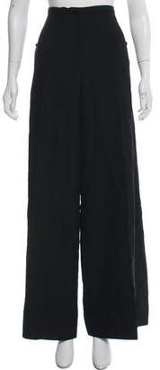 Lemaire High-Rise Wide-Leg Pants w/ Tags