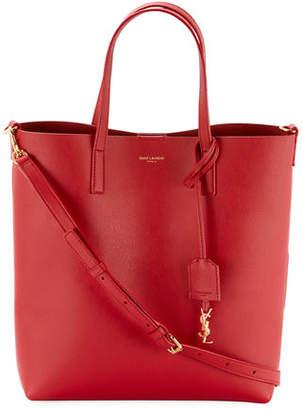 Saint Laurent Toy Leather Tote Bag with Shoulder Strap