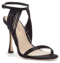 3160e9d5bbf5 Vince Camuto Black Leather Sandals For Women - ShopStyle Canada