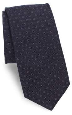 Theory Floral Textured Tie