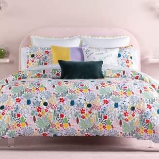 Kate Spade Cat in the Garden Comforter Set, Full/Queen