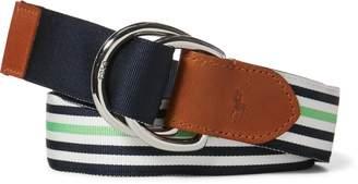 Ralph Lauren Striped Grosgrain Belt
