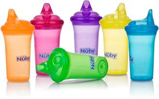 Nuby No Spill Cup With Reversible Valve, 9 Ounce, Colors May Vary