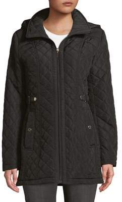 Gallery Petite Quilted Full-Zip Jacket