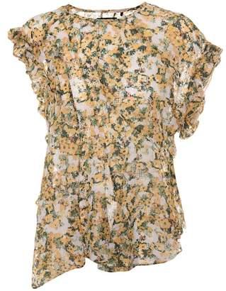 Isabel Marant Fliren floral-printed top