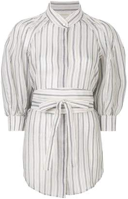 Zimmermann striped puffy blouse