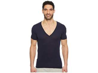 2xist Pima Slim Fit Deep V-Neck T-Shirt