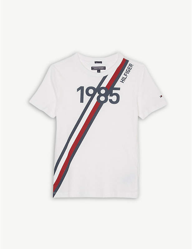 1985 striped cotton T-shirt 4-16 years
