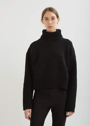 Proenza Schouler Cotton Cashmere Turtleneck Pullover