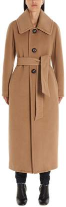 DSQUARED2 Belted Single Breasted Trench Coat