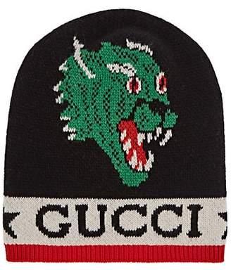 f2e65158be4 Gucci Men s Motif Wool Beanie - Black