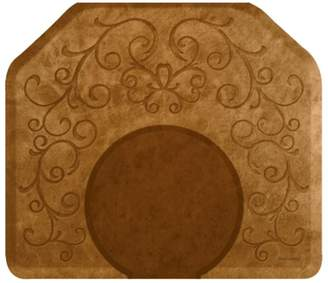 Equipment Smart Step Bella Copper Leaf Mat with Chair Depression