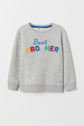 H&M Sibling top with embroidery