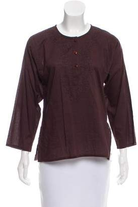 Trina Turk Long Sleeve Top