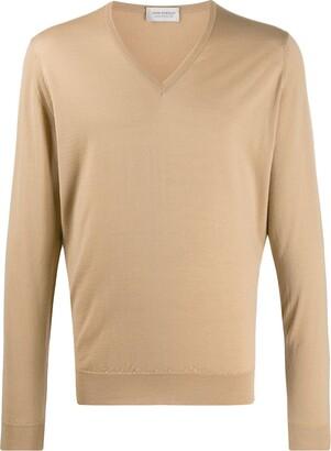 John Smedley wool knit jumper