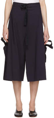 Roberts | Wood Navy Bow Split Trousers