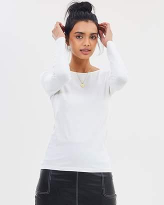 Mng Basic LS T-Shirt