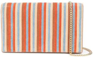 Diane von Furstenberg woven stripe shoulder bag