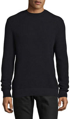 Halston H Ripple Cashmere-Blend Sweater