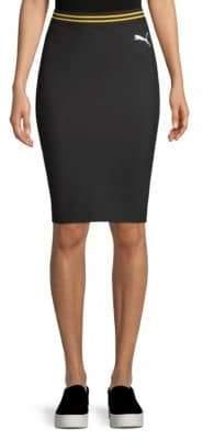 FENTY PUMA by Rihanna Varsity Pencil Skirt