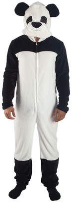 Novelty Licensed Panda Big Head Union Suit
