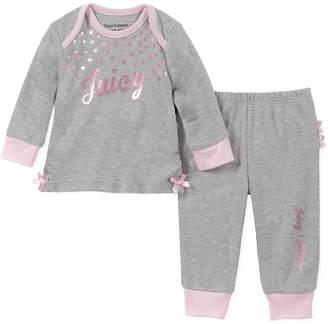 Juicy Couture 2Pc Layette & Pant Set
