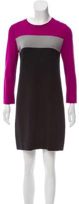 Diane von Furstenberg Colorblock Shift Dress
