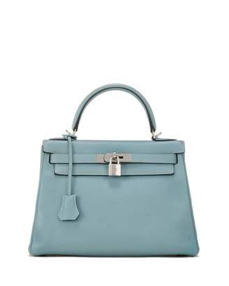Hermes Kelly 28 Clemence Satchel Bag