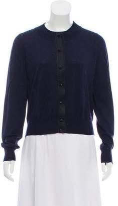 Marc Jacobs Embellished Rib Knit Cardigan