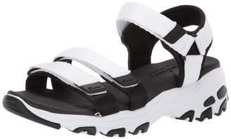9d4e233375f3 Skechers Women s D Lites-Fresh Catch Wedge Sandal