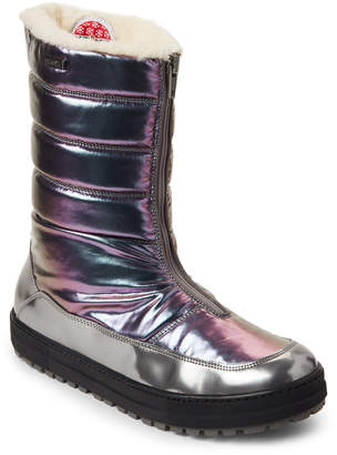 Naturino Kids Girls) Opal Amity Quilted All-Weather Boots