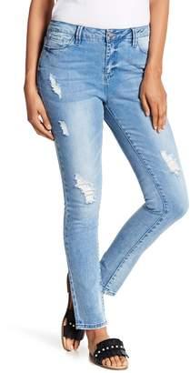 Nanette Lepore NANETTE Grammercy High-Rise Skinny Jeans
