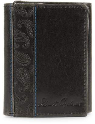 Robert Graham Myron Leather Trifold Wallet