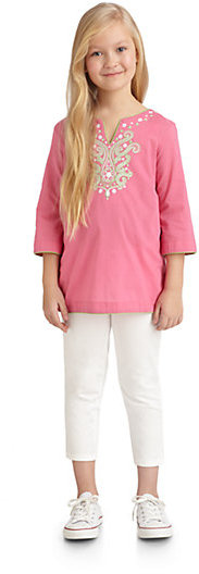 Hartstrings KC Parker by Girl's Embroidered Tunic