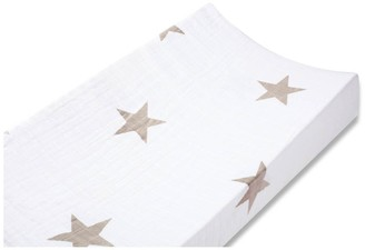 aden + anais Changing Mat Cover - Taupe Star $34.80 thestylecure.com