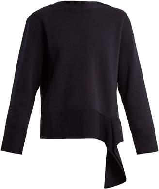 Stella McCartney Boat-neck cotton sweater