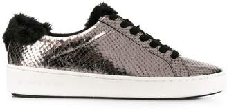 MICHAEL Michael Kors snakeskin effect low-top sneakers