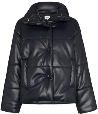 Nanushka Hide vegan leather puffer coat